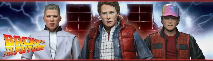 Back To The Future Action Figuren | ©2020 NECAOnline.com