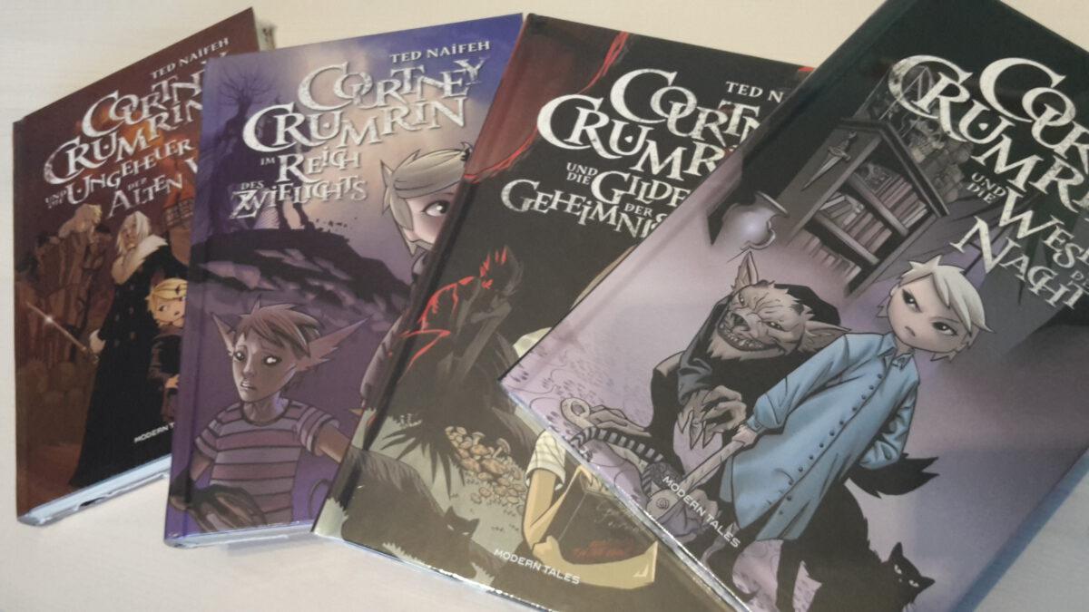 Courtney Crumrin Bücher von Modern Tales 2010